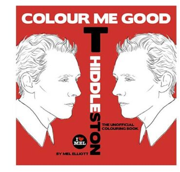 Things I Need To Buy Right Now: The Tom Hiddleston Coloring Book 2