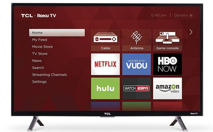 TCL 32-Inch 720p Roku Smart LED TV