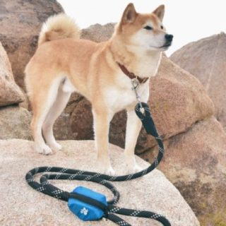 ZippyPaws Dog Poop Bag Holder Leash Attachment