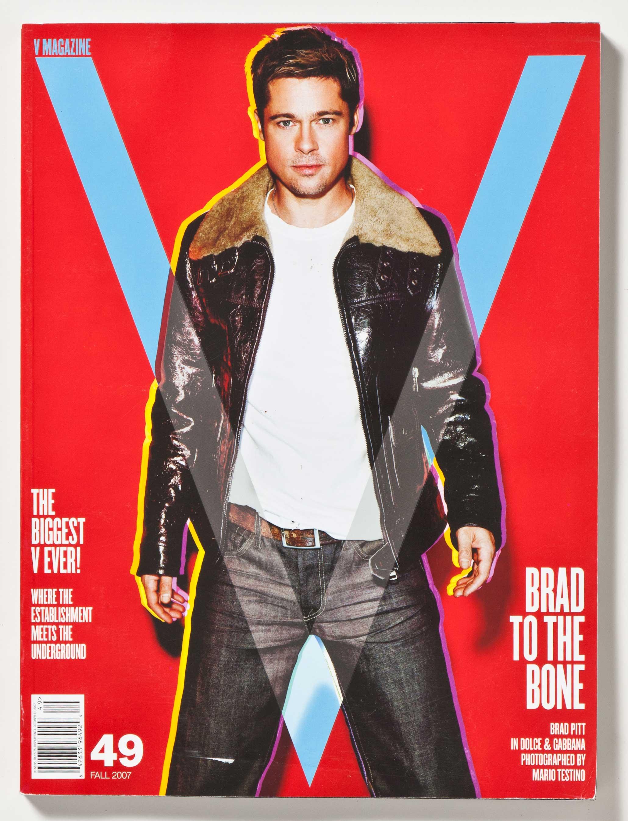 Brad Pitt for V Magazine