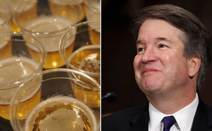 Brett Kavanaugh Loves Beer