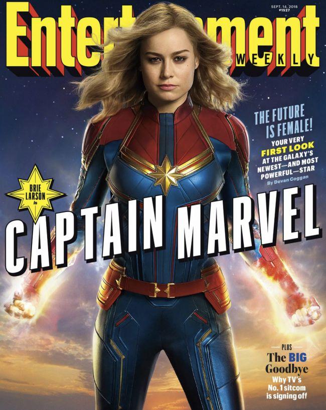 Brie Larson as Captain Marvel