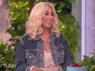 Cher on Ellen