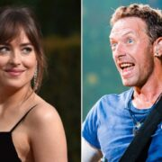 Dakota Johnson and Chris Martin