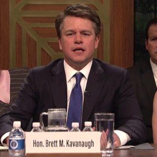 Matt Damon Debuts Angry Matt Kavanaugh