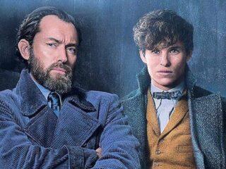 Jude Law and Eddie Redmayne