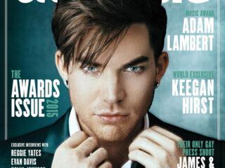 Adam Lambert Attitude Magazine