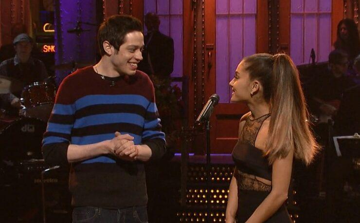 Ariana Grande Pete Davidson SNL