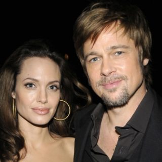 Brad Pitt and Angelica Jolie