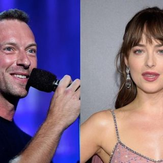 Chris Martin & Dakota Johnson