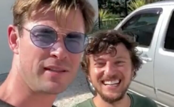 Chris Hemsworth Hitchhiker