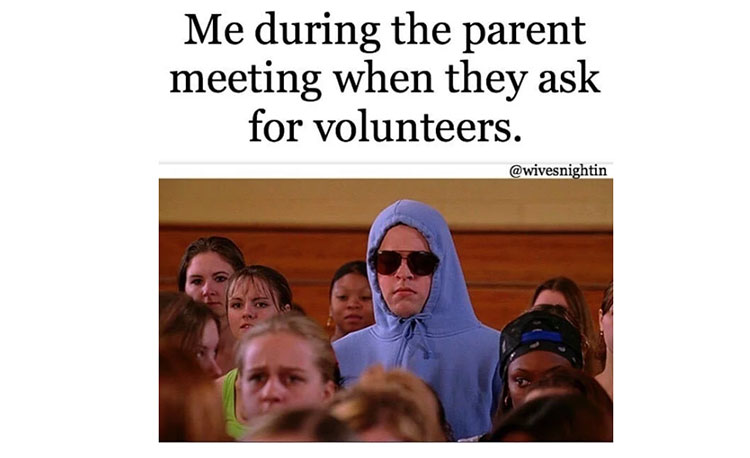 Parent Meeting Meme