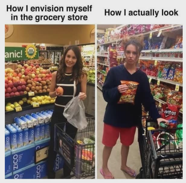 Grocery Store Meme