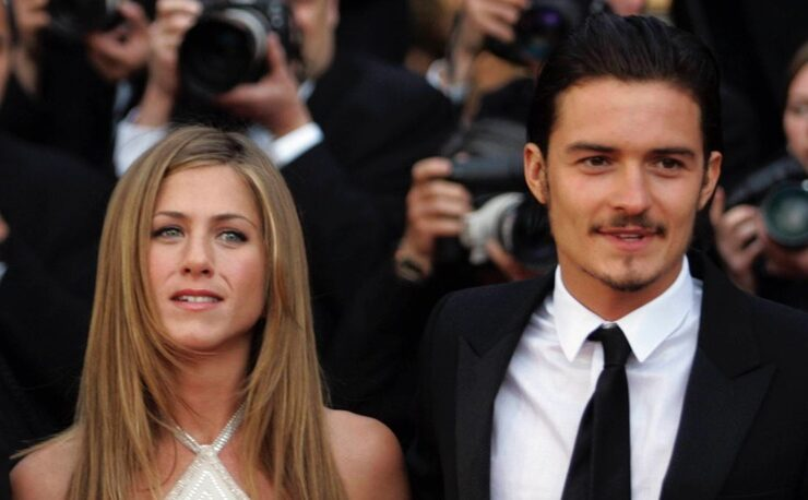 Orlando Bloom Jennifer Aniston