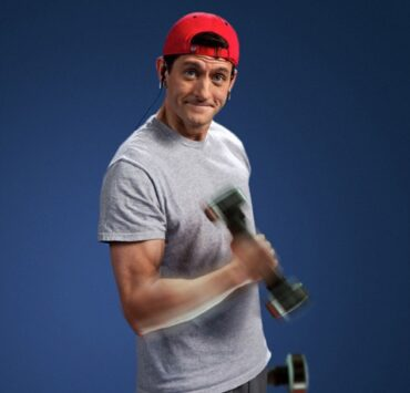 Paul Ryan lifting weights