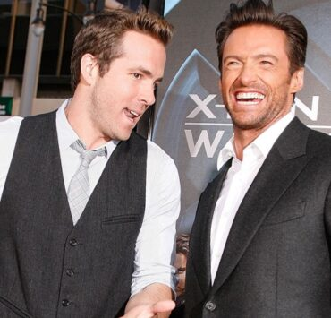 Ryan Reynolds and Hugh Jackman