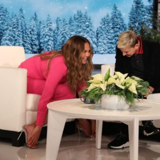 Chrissy Teigen on Ellen