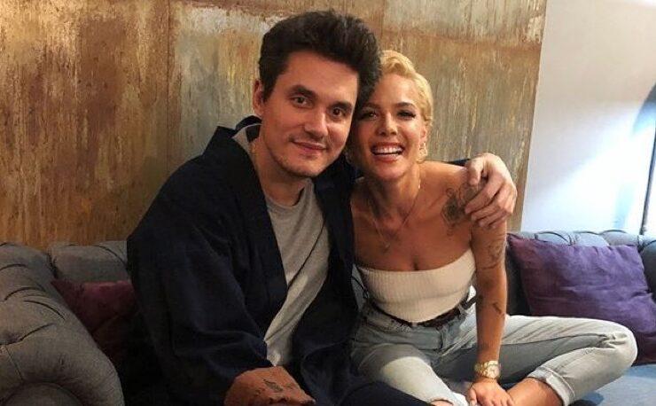 Halsey and John Mayer