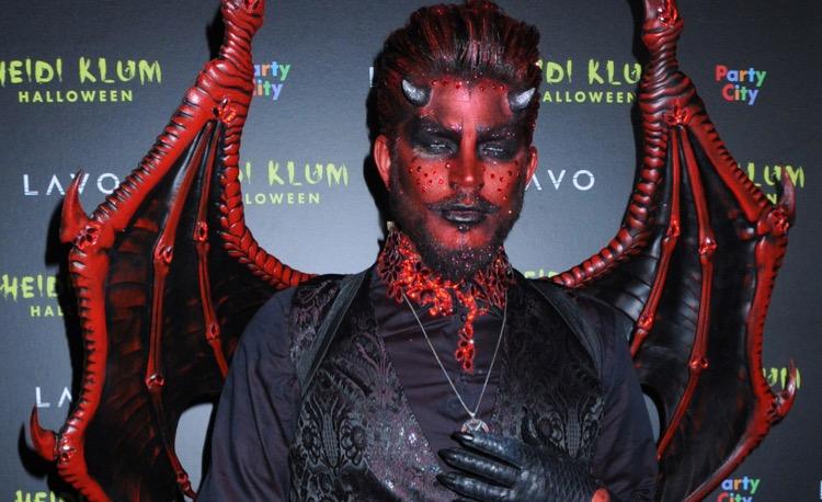 Adam Lambert Devil Halloween