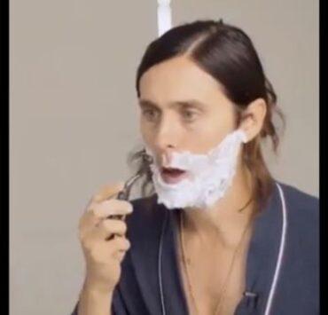 Jared Leto Shaving