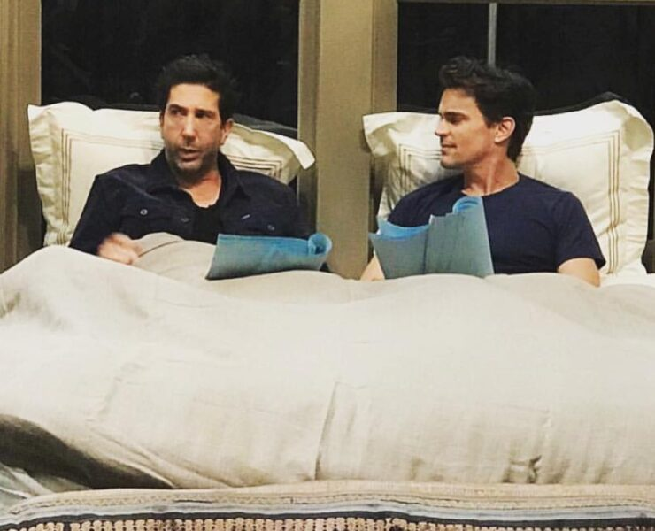 David Schwimmer and Matt Bomer