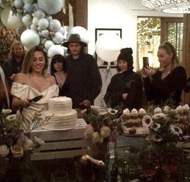 Miley Cyrus and Liam Hemsworth wedding