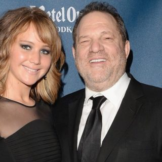 Jennifer Lawrence and Harvey Weinstein