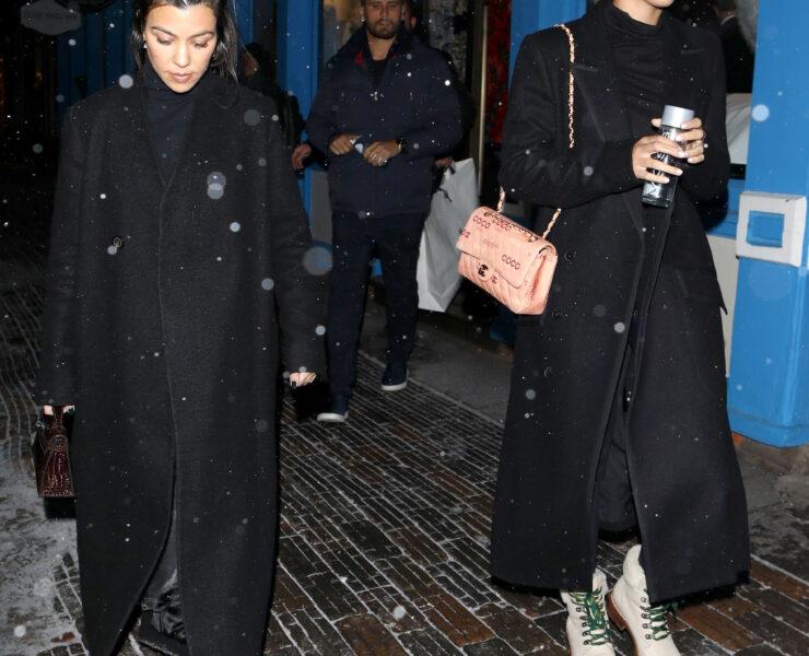 Sofia Richie Joins KarJenner Sisters & Scott Disick on Post-Christmas Family Vacation in Aspen 1