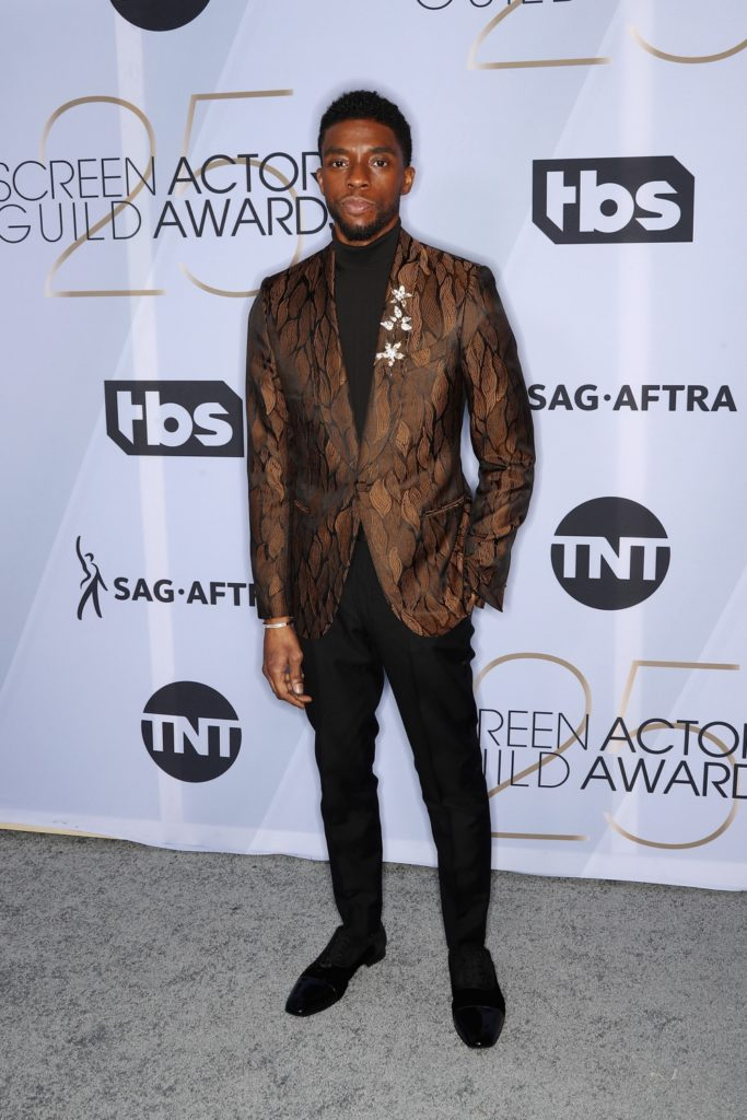 Chadwick Boseman 25th Annual Screen Actors Guild Awards - Arrivals