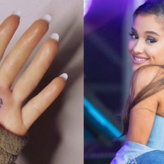 Ariana Grande Has a Major Tattoo Fail