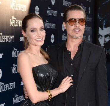 "Brad Pitt and Angelina Jolie World Premiere Of Disney's ""Maleficent"" - Red Carpet"