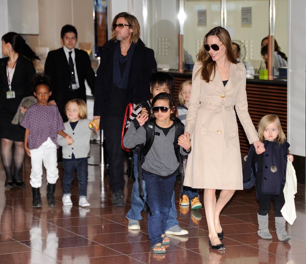 Accompanied by their children, US movie