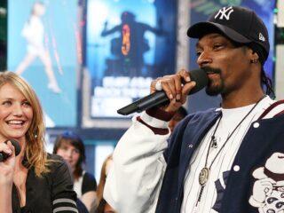 MTV TRL Presents Cameron Diaz, Ashton Kutcher & Snoop Dogg
