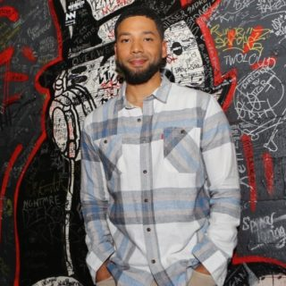 Jussie Smollett Celebrates Day of the Dead