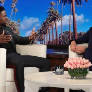 Kevin Hart Ellen DeGeneres