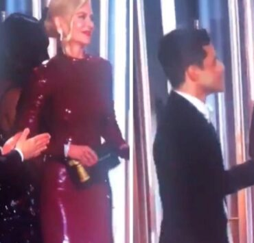 Rami Malek Snubbed By Nicole Kidman