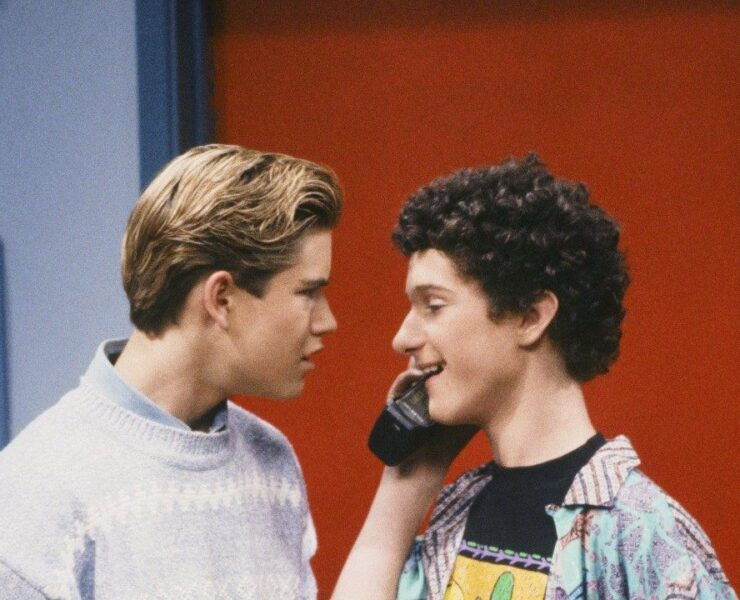 Mark-Paul Gosselaar Hasn't Spoken to Dustin Diamond in 25 Years 1
