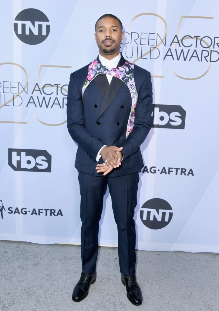 Michael B Jordan 25th Annual Screen ActorsGuild Awards - Arrivals