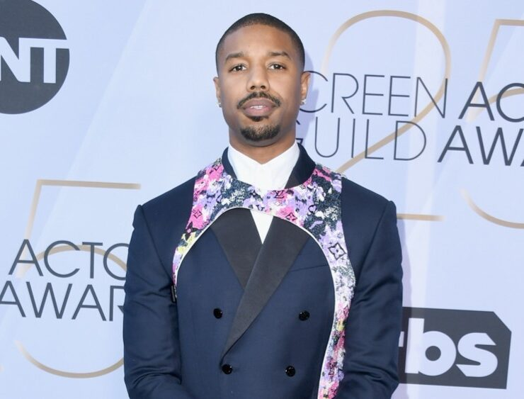 Michael B Jordan 25th Annual Screen Actors Guild Awards - Arrivals