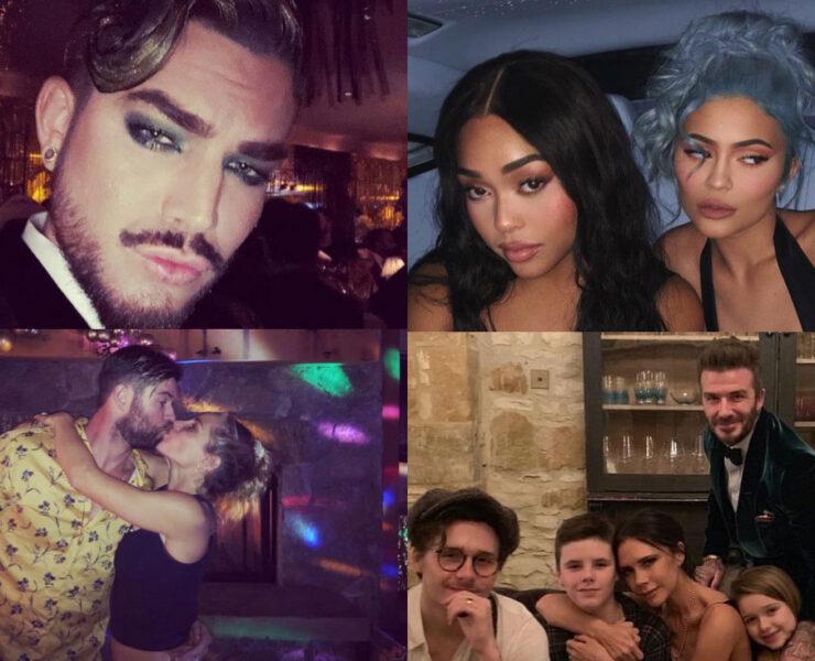 Celebrity NYE Photos