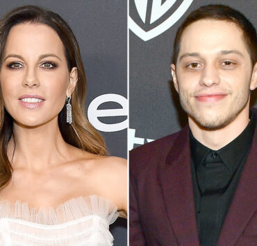 Kate Beckinsale Ribs Fan Shading Her for Chatting Up Pete Davidson at Golden Globes Afterparty 2