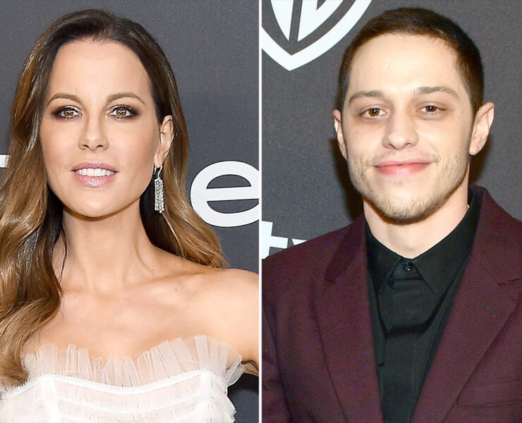 Kate Beckinsale Ribs Fan Shading Her for Chatting Up Pete Davidson at Golden Globes Afterparty 4