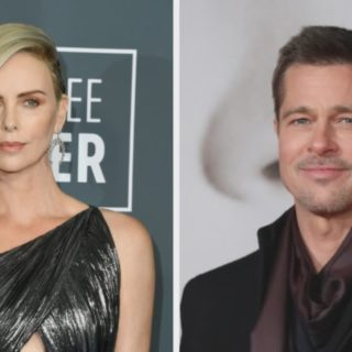 Charlize Theron and Brad Pitt
