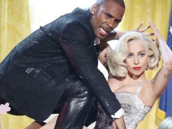 R Kelly and Lady Gaga