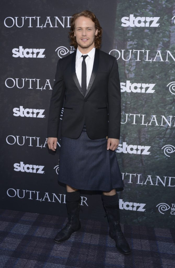 "Sam Heughan Starz Series ""Outlander"" Premiere - Comic-Con International 2014"