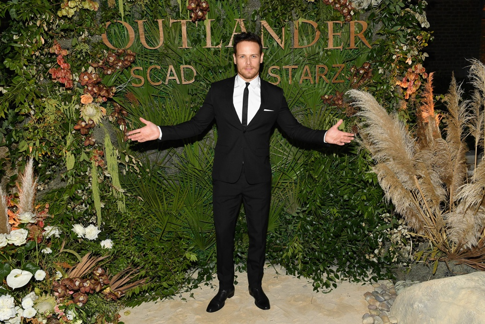 "Sam Heughan 21st SCAD Savannah Film Festival - Red Carpet, Premiere Screening & Costume Exhibition For ""Outlander"" Season Four"