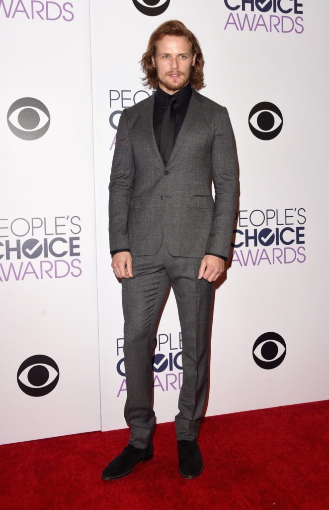 Sam Heughan The 41st Annual People's Choice Awards - Press Room