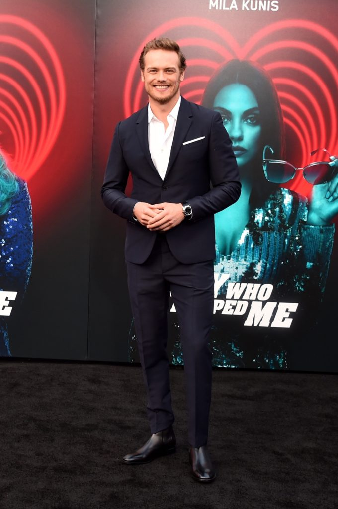 "Sam Heughan Premiere Of Lionsgate's ""The Spy Who Dumped Me"" - Arrivals"