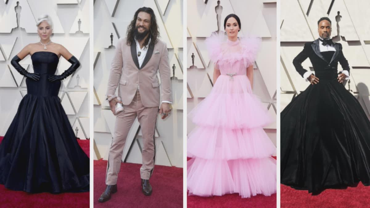 2019 Oscar Best Dressed: Lady Gaga, Jason Momoa, Kacey Musgraves, Billy Porter & More 1