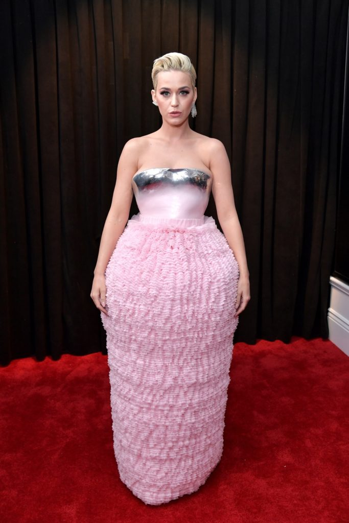 Katy Perry 61st Annual GRAMMY Awards - Red Carpet
